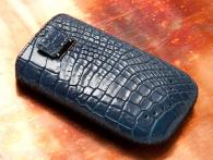 Samsung I9100 Galaxy S II Croco-blue 2