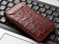 iPhone 4S Croco-brown 2