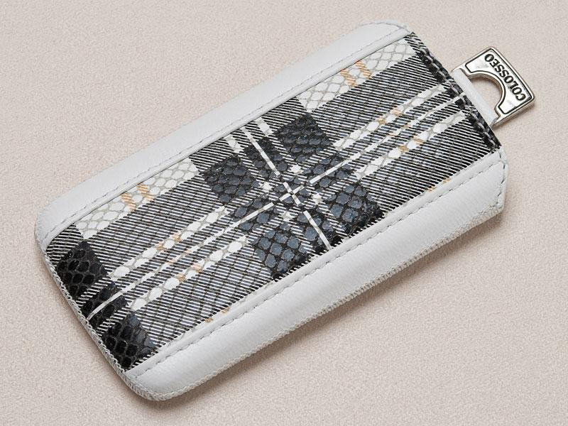 Футляр iPhone 5 WHITE-BURBERRY-L
