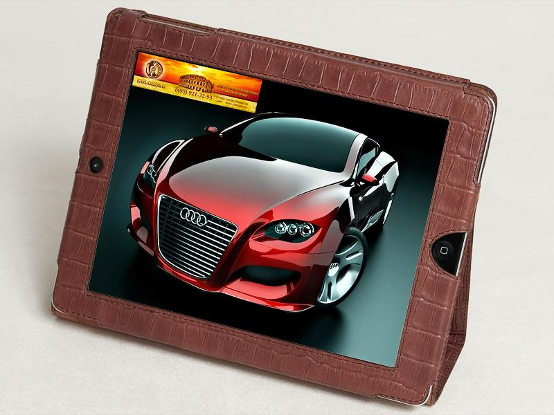 Чехол для iPad 3 CAYMAN-MARONE
